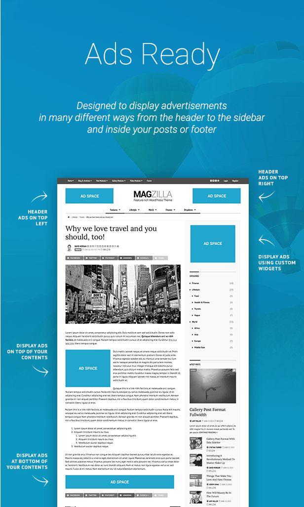 MagZilla - For Newspapers, Magazines and Blogs - 7