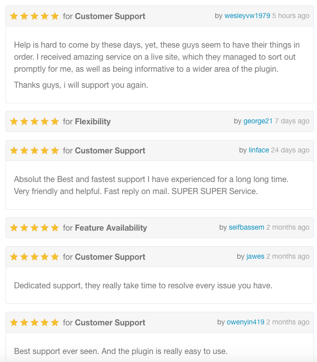Reviews for Email Customizer for WooCommerce