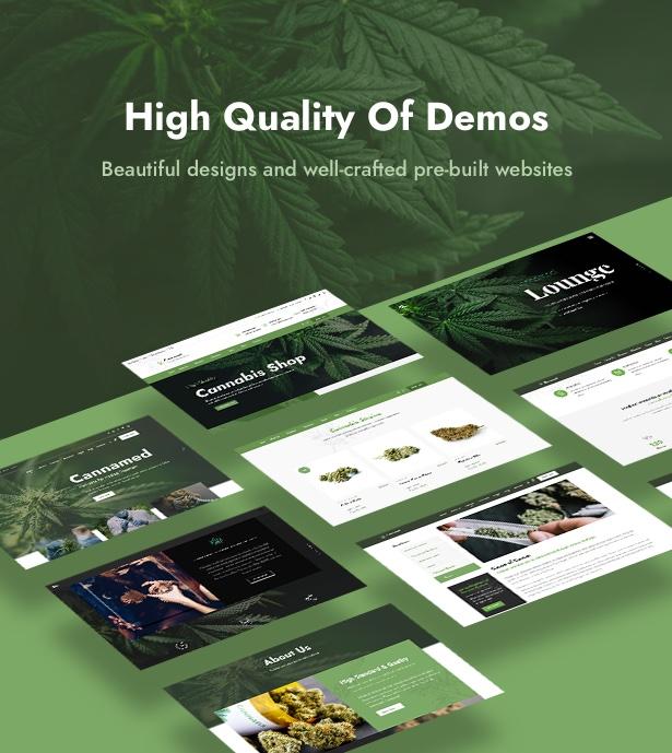 Cannamed - Cannabis & Marijuana WordPress - 6