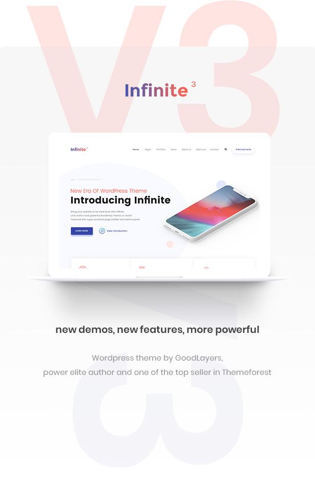 Infinite - Multipurpose WordPress Theme - 1