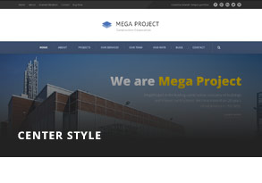 Construction WordPress Theme For Construction Company | Mega Project