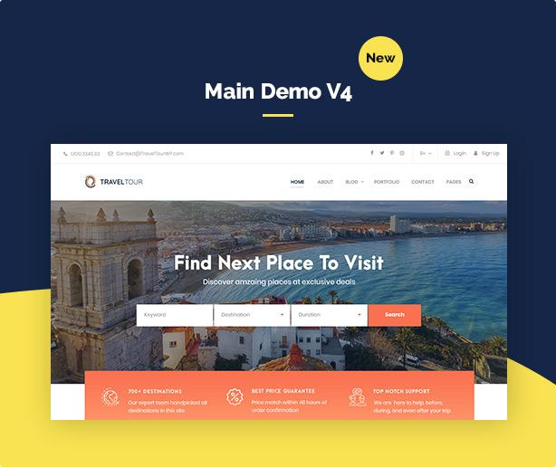Travel Tour Booking WordPress - 7