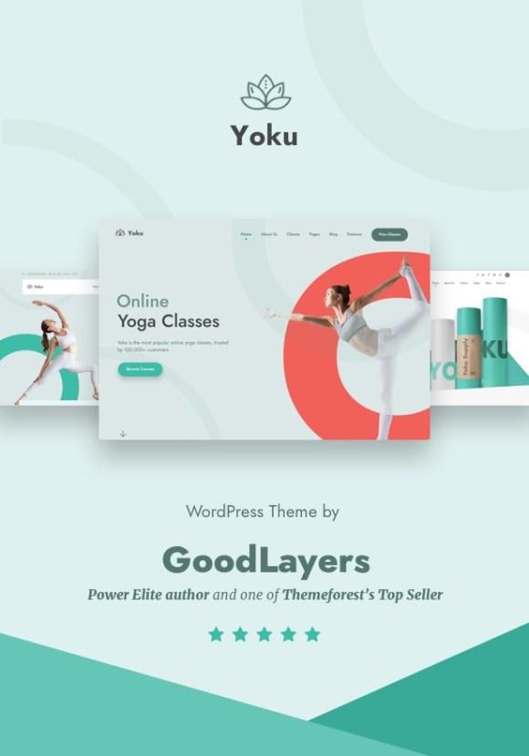 Yoku - Yoga Studio & Ayurveda WordPress - 1