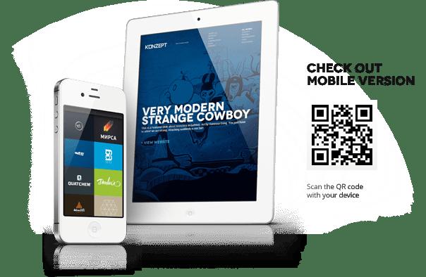 Konzept - Fullscreen Portfolio WordPress Theme 2