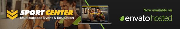 Sport Center - Multipurpose Events & Education WordPress Theme - 24