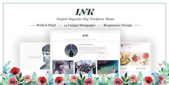 Ink - Magazine WordPress Theme