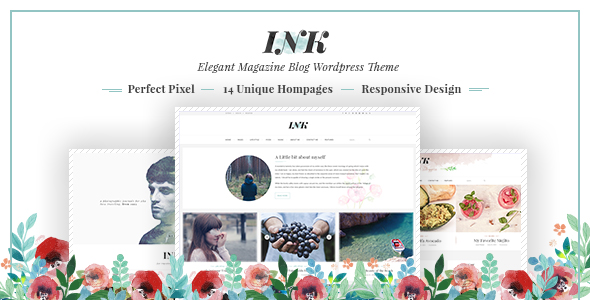 Ink - Magazine WordPress Theme