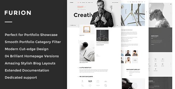 Furion - Creative Blog & Portfolio WordPress Theme