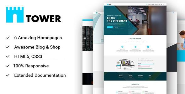 TOWER - Corporate Business Multipurpose WordPress Theme - 12