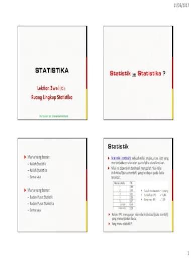 Dan id3 (iterative dichotomiser 3). Statistika Dinus Ac 11 03 2017 4 Klasifikasi Statistika Klasifikasi Statistika Deskriptif Inferensial