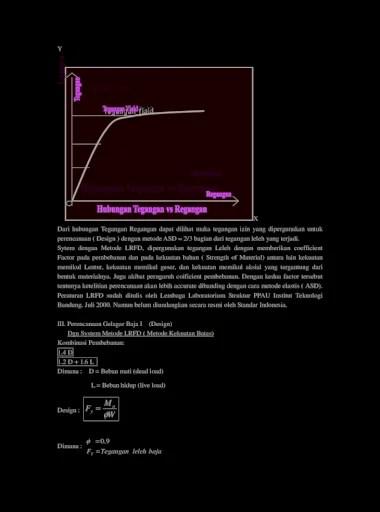 Perencanaan struktur baja dengan metode lrfd bangunan. Design Gelagar Baja Dan Kontrole Penyelesaian W M F U Y Contoh Soal Suatu Struktur Gelagar Sederhana Balok Baja