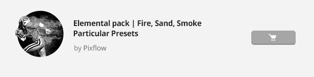 Particle Builder | Elemental Pack: Fire Sand Smoke Sparkle Particular Presets - 26