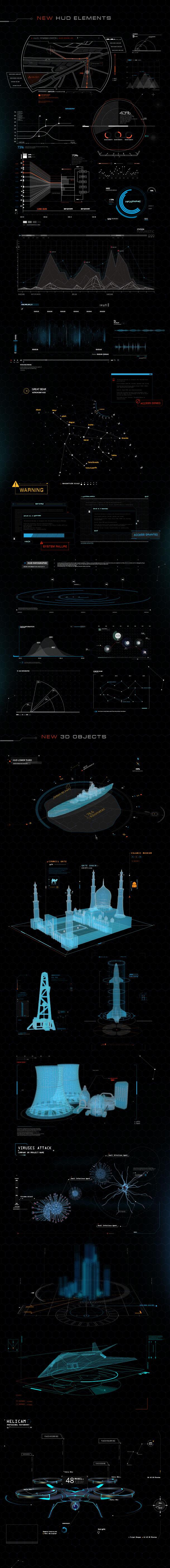 Quantum HUD Infographic - 15