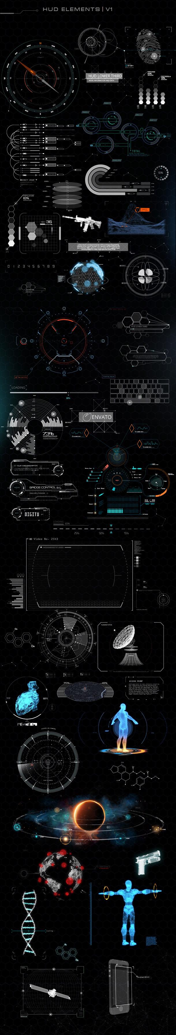 Quantum HUD Infographic - 19