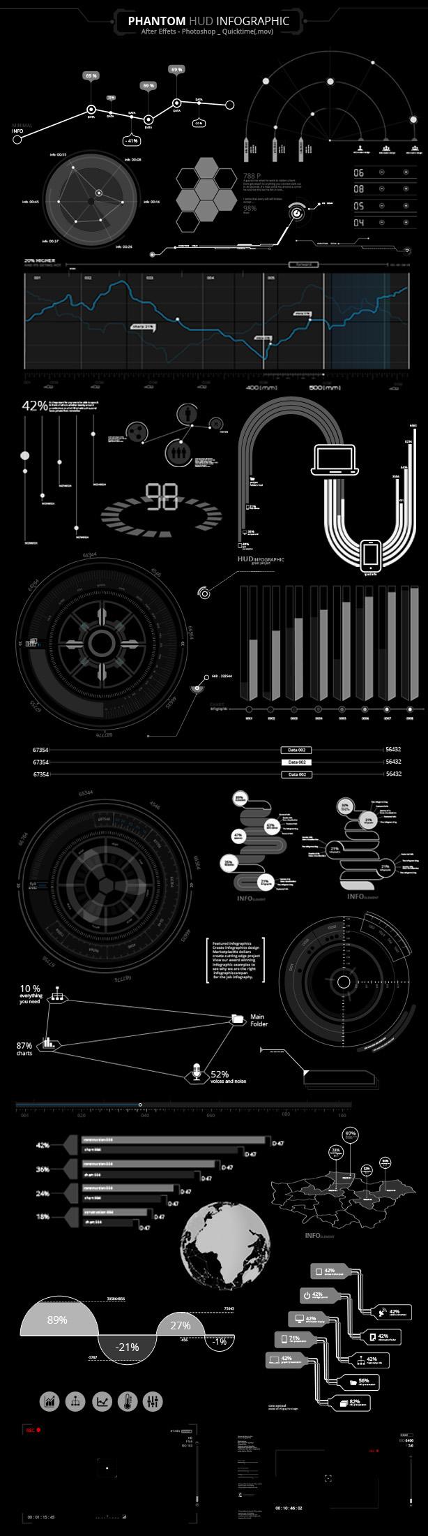 Phantom HUD Infographic - 8