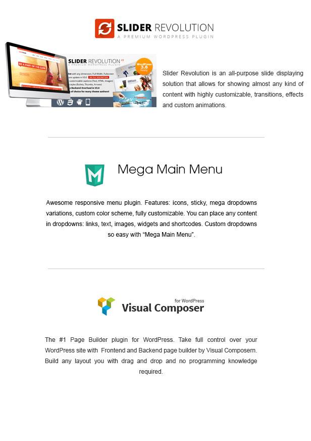 Rubbez- WooCommerce & Corporate WordPress Theme - 3