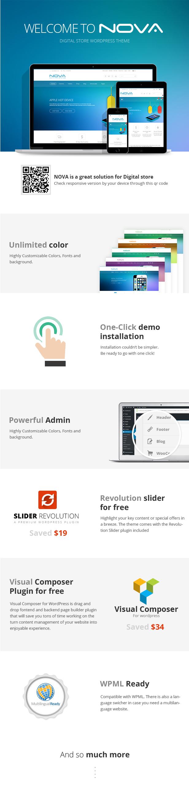SNS Nova - Digital Store WordPress Theme - 3