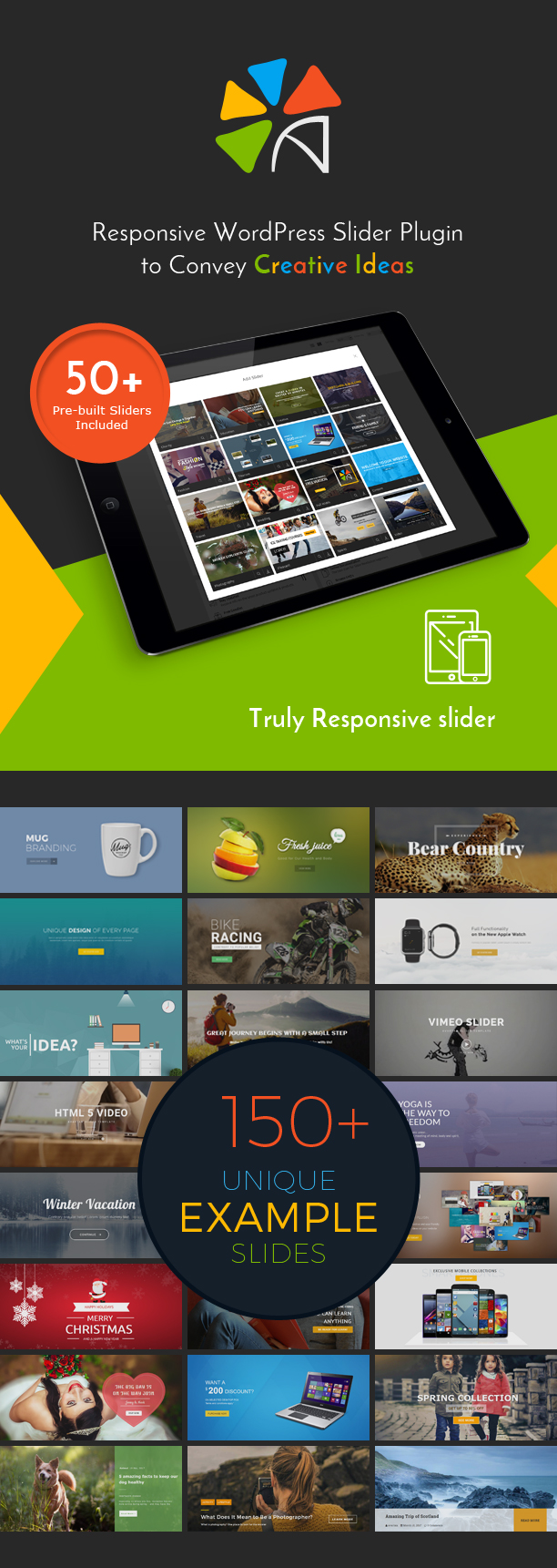 Avartan Slider - Responsive WordPress Slider Plugin 1