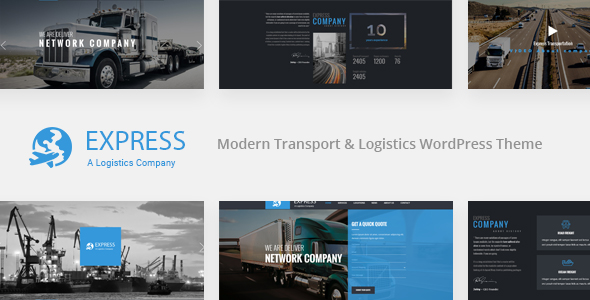 EXPRESS - Modern Transport & Logistics WordPress Theme