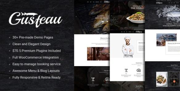 gusteau restaurant theme