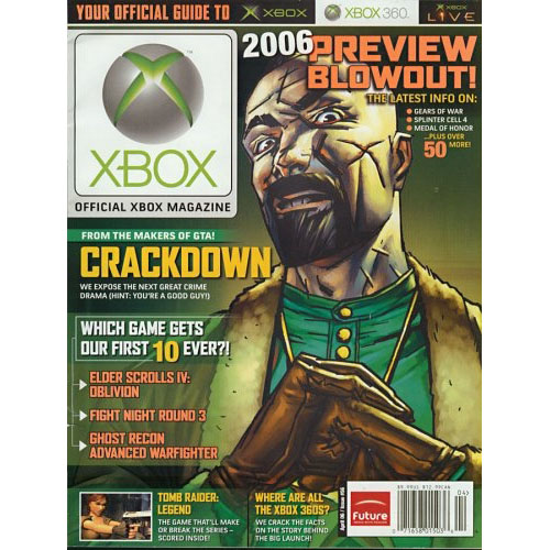 Official Xbox Magazine With DVD 1 Year Subscription