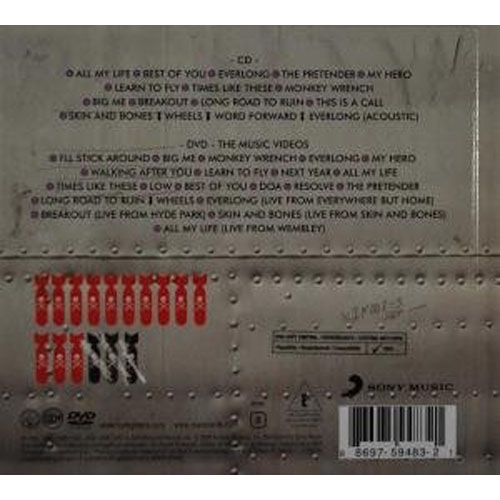 Foo Fighters Greatest Hits Deluxe CDDVD