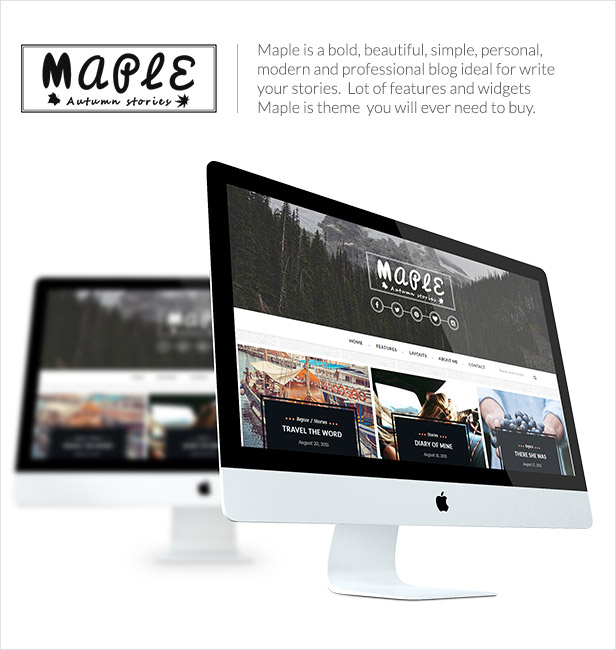 Maple - Responsive WordPress Blog Theme - 2