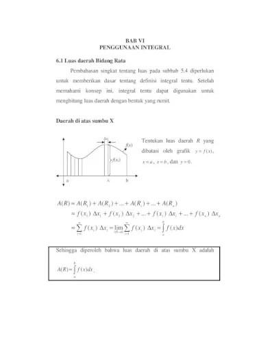 Mua file pdf yang ada harap dibuka menggunakan adobe acrobat reader. Bahan Kuliah Kalkulus Integral Bab6 Pdf Document