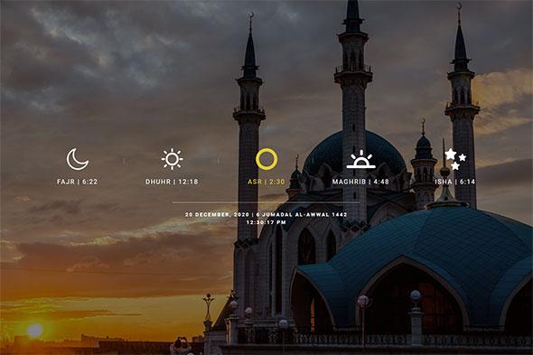 Salah Time, Fasting Time Calendar WordPress Plugin - 5