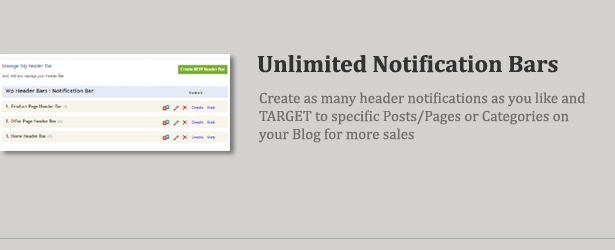 Wp Header Bar - WordPress Notification Bar - 7
