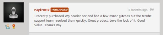 Wp Header Bar - WordPress Notification Bar - 5