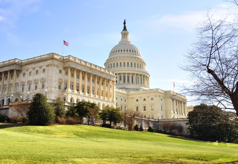 Capitol Hill Building ,Washington DC.
