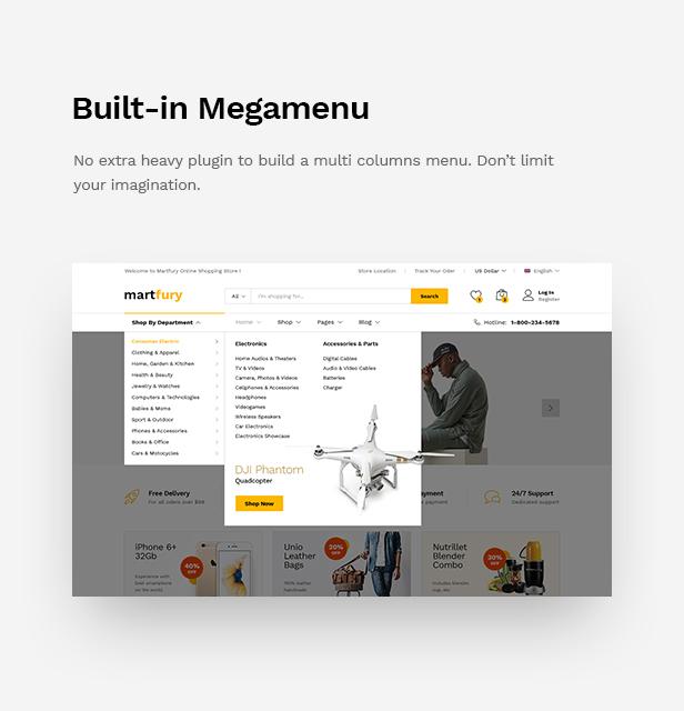 Martfury - WooCommerce Marketplace WordPress Theme - 28