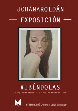 Cartel para la exposición Vibéndulas