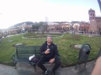 Mateada na Plaza de Armas
