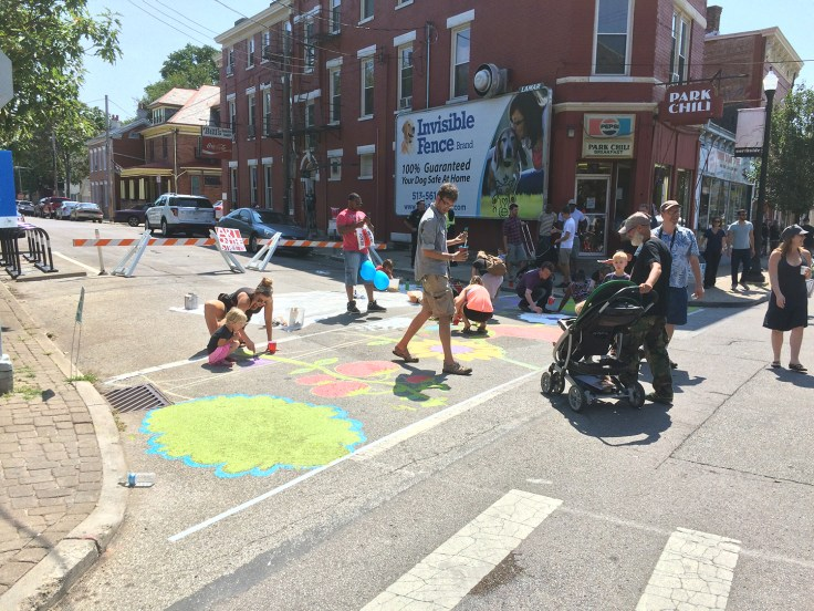Sidewalk Painting
