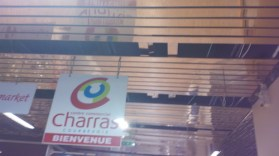 Faux plafonds de la galerie marchande Charras
