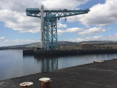 Crane Titan in Clydebank