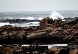 Donegal - the rocky shore at Kincasslagh in Co Donegal a