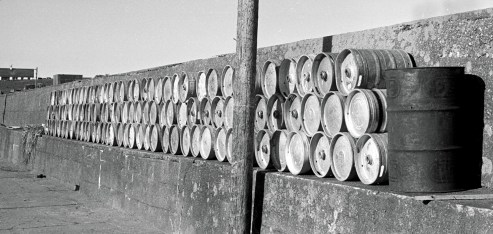 Piers - vital supplies stored at Cleggan