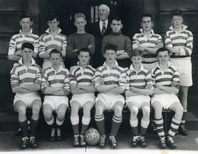 Academy team in 1960s for DML