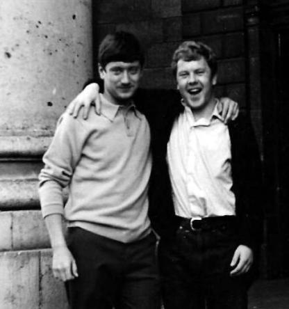 Monaghan Tom and Tommy Moy in Dublin in 1966