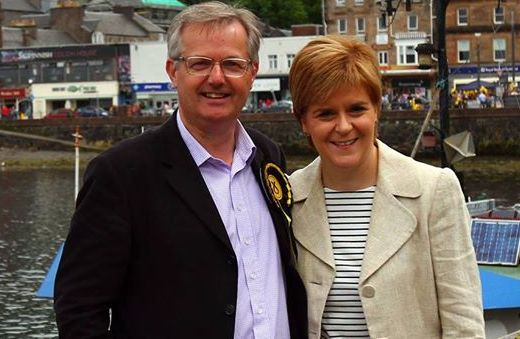 O'Hara Brendan and Nicola Sturgeon 2