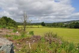 The site of the proposed Dumbarton Football Club stadium on Renton Road, Dumbarton.