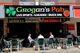 Algarve - Grogan's Bar in Vilamoura
