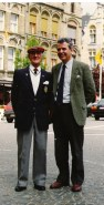 Aitken James with Bill at Ypres