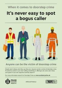 Bogus caller poster