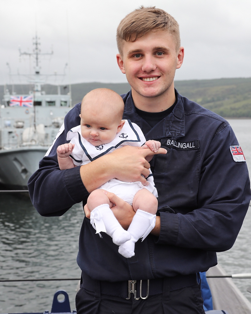 HMS Shorham Deploys