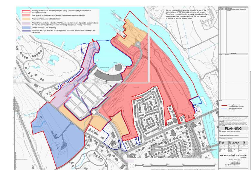 map of Flamingo Land latest application