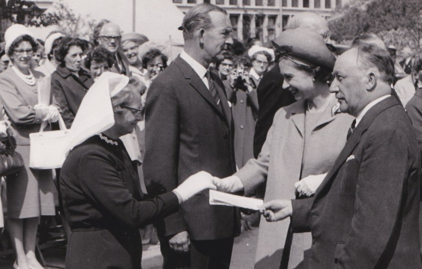 Queen at Vale hospital